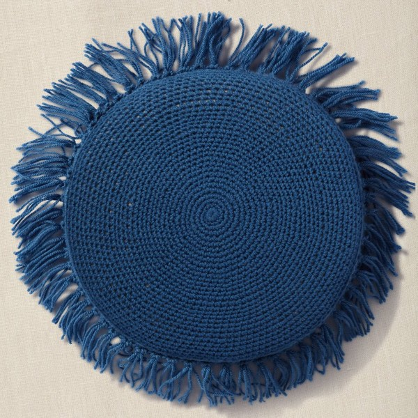Kit DIY Crochet Mindful DMC - Coussin - Ø 40 cm - Photo n°5