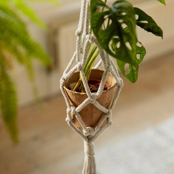 Kit DIY Macramé Mindful DMC - Suspensions plantes - 3 pcs - Photo n°2