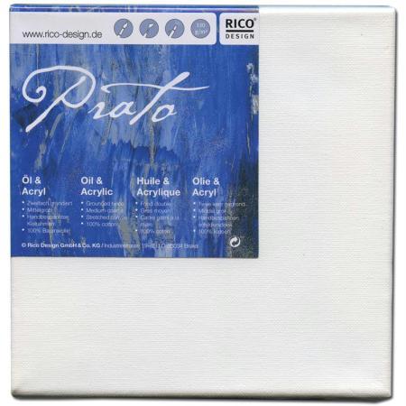 Châssis peinture 100% coton Prato 30x30x1,8 cm - Rico Design