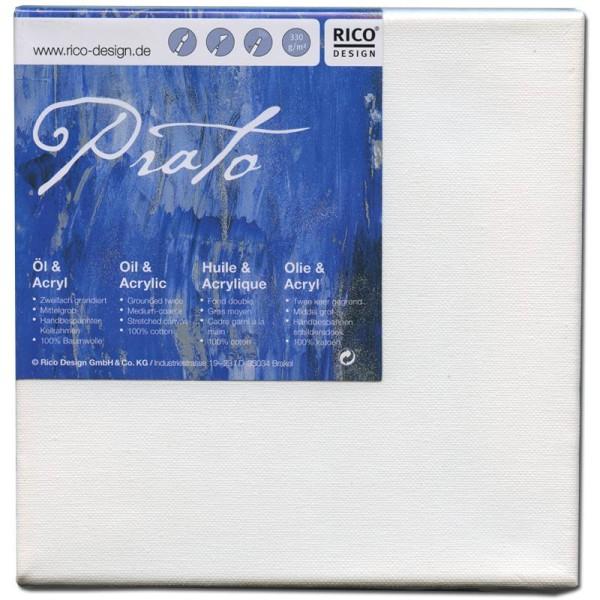 Châssis peinture 100% coton Prato 30x30x1,8 cm - Photo n°1