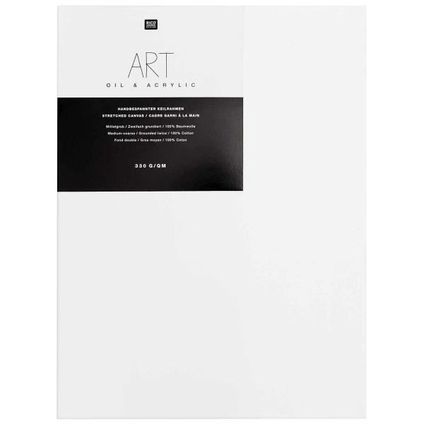 Châssis peinture 100% coton Prato 40x50x1,8 cm - Photo n°1