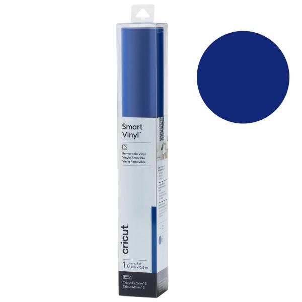 Vinyle adhésif Repositionnable Smart - Bleu - 33 x 91 cm - 1 feuille - Photo n°1