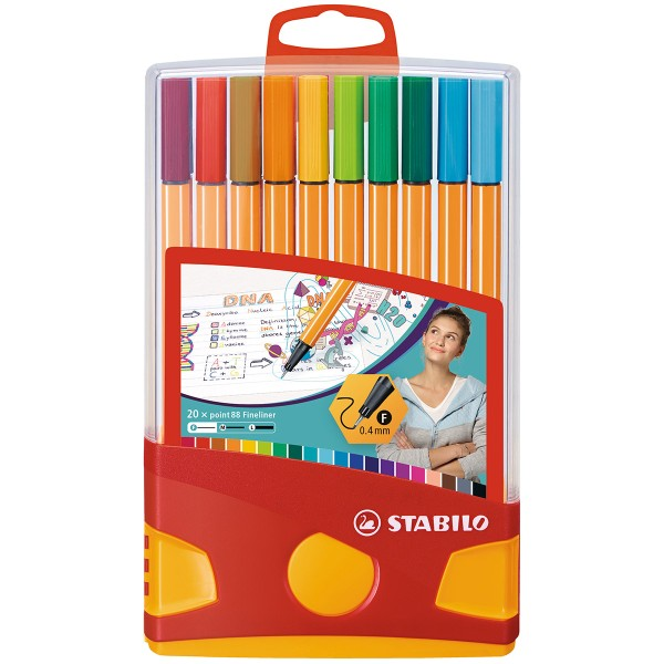 Stabilo Point 88 Colorparade - 20 pcs - Photo n°1