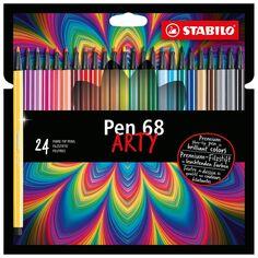 Feutres Stabilo Pen 68 Arty - 24 pcs