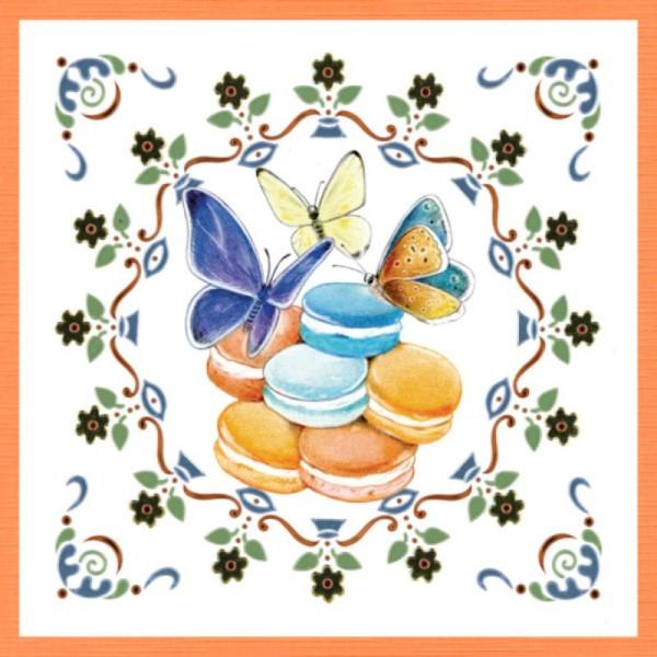 Dot and do 204 - kit Carte 3D - Papillons - Photo n°3