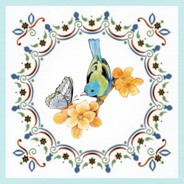 Dot and do 204 - kit Carte 3D - Papillons - Photo n°4