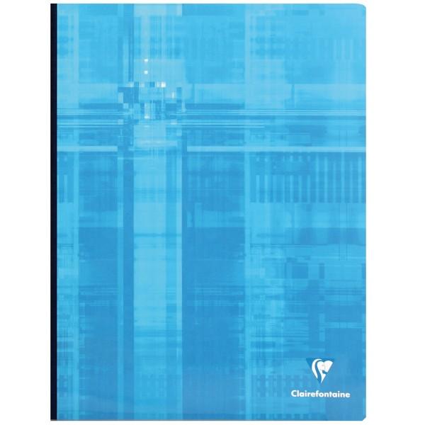 Cahier Broché 24 x 32 cm - Bleu - 192 pages - Photo n°1