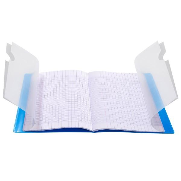 Cahier Koverbook Grands-carreaux avec protège-cahier intégré - 17 x 22 cm - 96 pages - Photo n°2