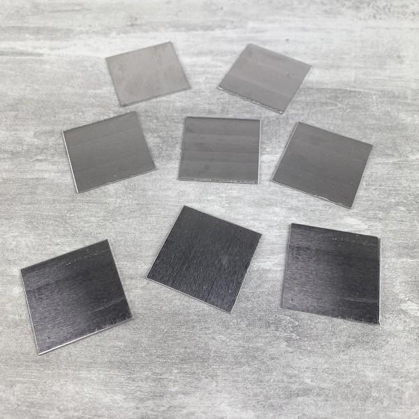 Support en Aluminium pour Efcolor, Carré, 30 × 30 mm, 8 pièces - Photo n°1