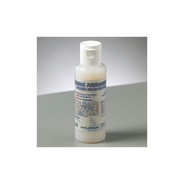 Colle Vernis médium pour porcelaine, 50 ml - Photo n°1