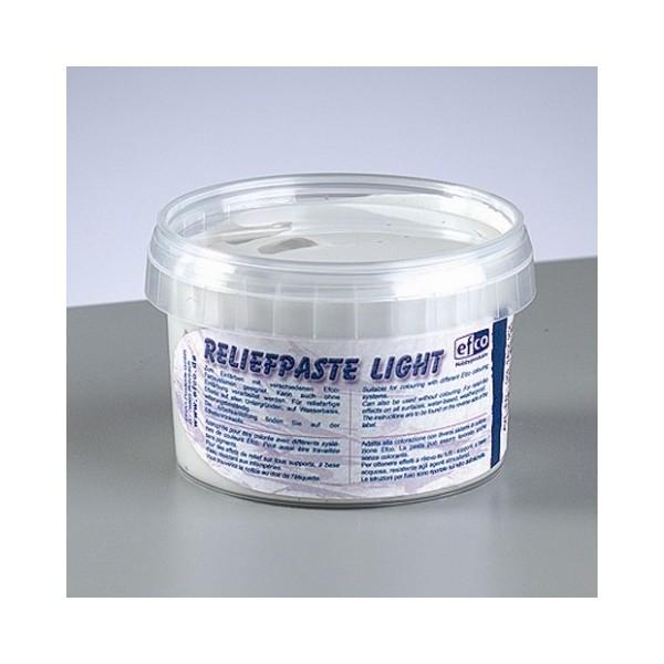 Pâte à relief légère blanche, Reliefpaste light à teinter, 260 g - Photo n°3