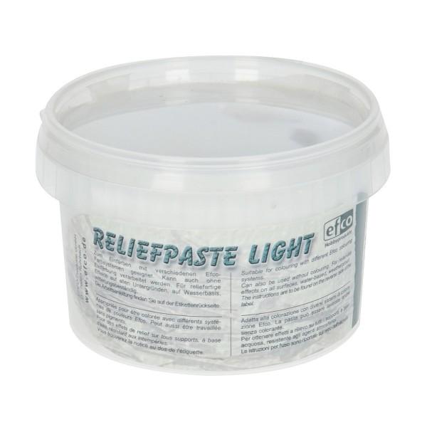 Pâte à relief légère blanche, Reliefpaste light à teinter, 260 g - Photo n°1
