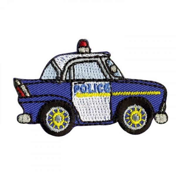 Ecusson voiture police thermocollant 5cmx3.5cm - Photo n°1
