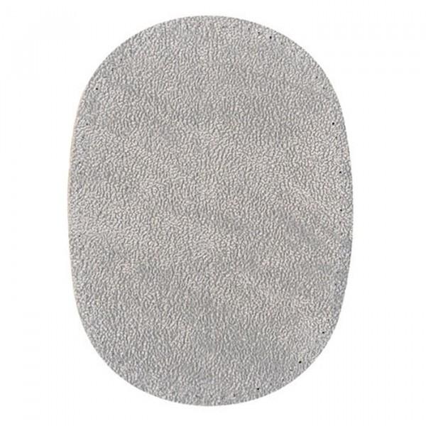Renfort coude ou genoux gris imitation daim à coudre - Photo n°1