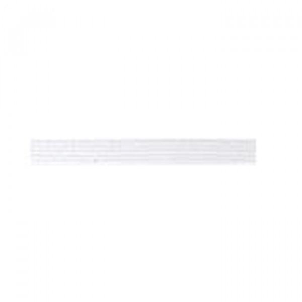 Tresse élastique plate 4mm 3m blanc - Photo n°3