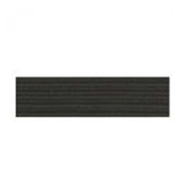 Tresse élastique plate 10mm noir - Photo n°1