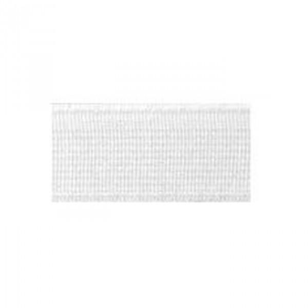 Elastique cotelé fort 15mm blanc - Photo n°1