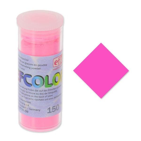 Poudre d'émaillage à froid Néon Fluo Efcolor, 10 ml - Photo n°1