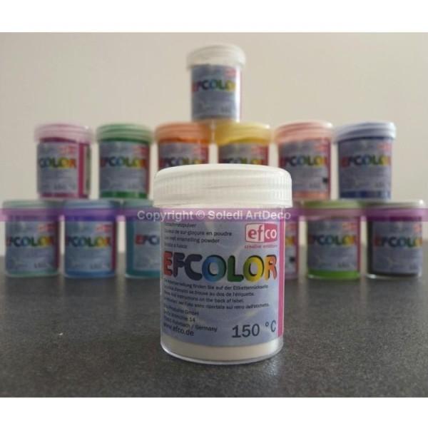 Poudre d'émaillage à froid opaque Efcolor, 25 ml - Photo n°1