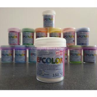 Poudre d'émaillage à froid opaque Efcolor, 25 ml