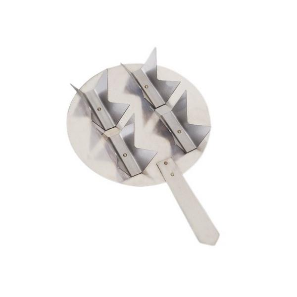 Support de cuisson Efcolor avec manche, pour 4 petites pièces, ø 106 mm - Photo n°1