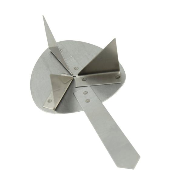 Support de cuisson Efcolor avec manche, pour 1 pièce de 10-50 mm, ø 83 mm - Photo n°1