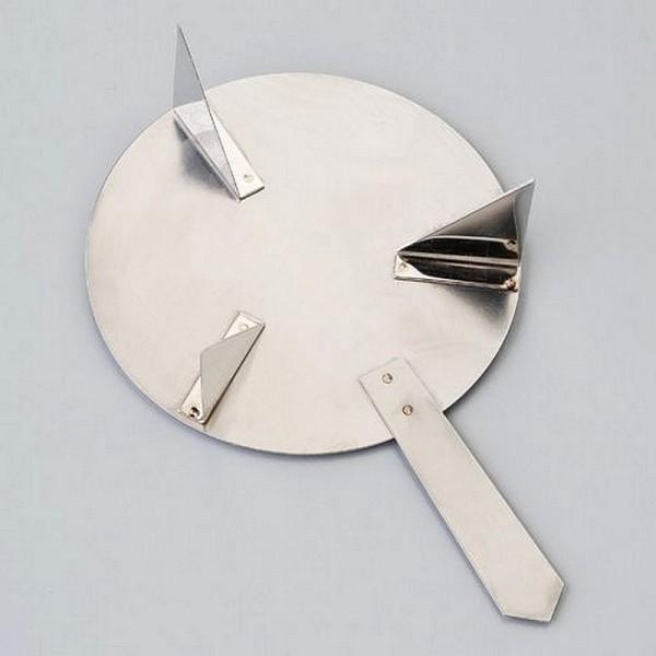 Support de cuisson Efcolor avec manche, pour 1 pièce 35-80 mm, ø 84 mm - Photo n°1