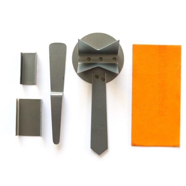Set d'outils pour bijoux Efcolor, 5 pièces, pour le travail de sur-glaçure, émaillage - Photo n°1