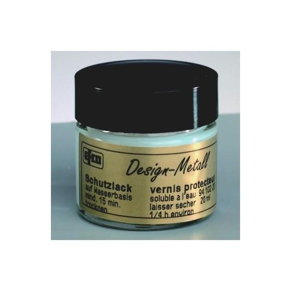 Vernis de protection, 20 ml, pour feuilles d'or, d'argent et métalliques - Photo n°1