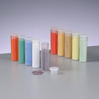 Set de 10 flacons de poudre d'émail opaque de 5 ml