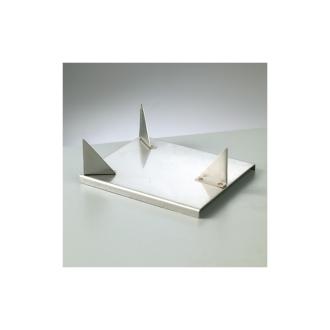 Support contre-émail, pour pièce de 9 à 14 cm, émaillage jusqu'à 1 200°C