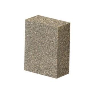Bloc à poncer, grain fin, 5 x 4 x 2 cm