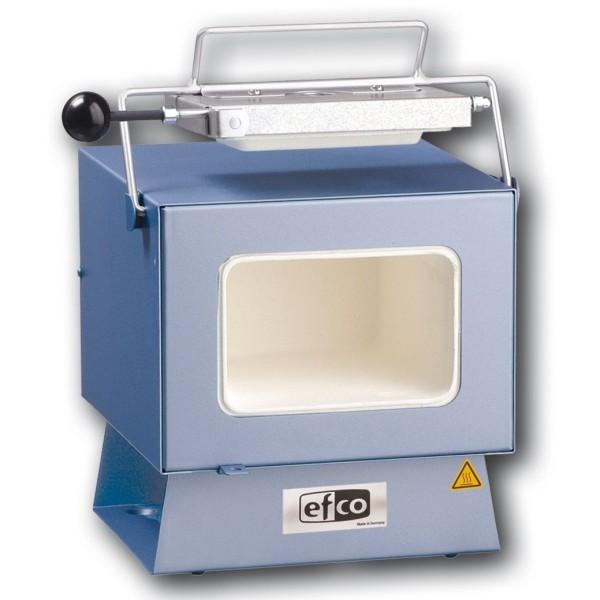 Four électrique à moufle EFCO 135 KF, Température maximum 1100°C - Photo n°1