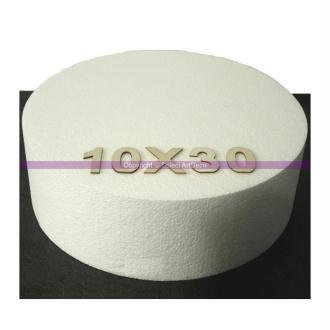 Disque épaisseur 10 cm, diamètre 30 cm, polystyrène pro haute densité, 2