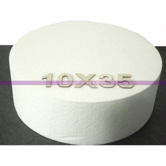 Disque épaisseur 10 cm, diamètre 35 cm, polystyrène pro haute densité, 2