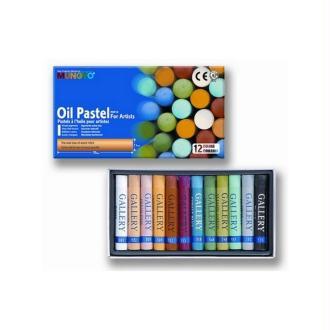 Pastels Pigments extra-fins à l'huile pour artistes, lot de 12 couleurs