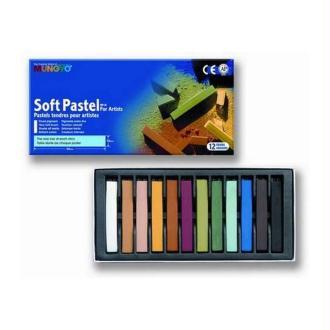 Pastels tendres Pigments extra-fins pour artistes, lot de 12 couleurs