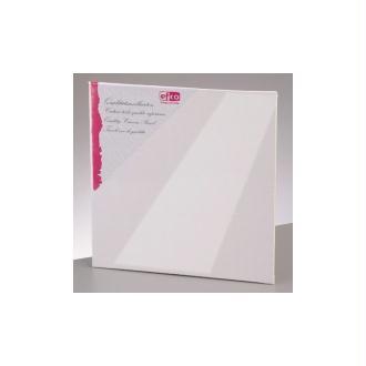 Carton entoilé Dim 10 x 10 cm / 3 mm