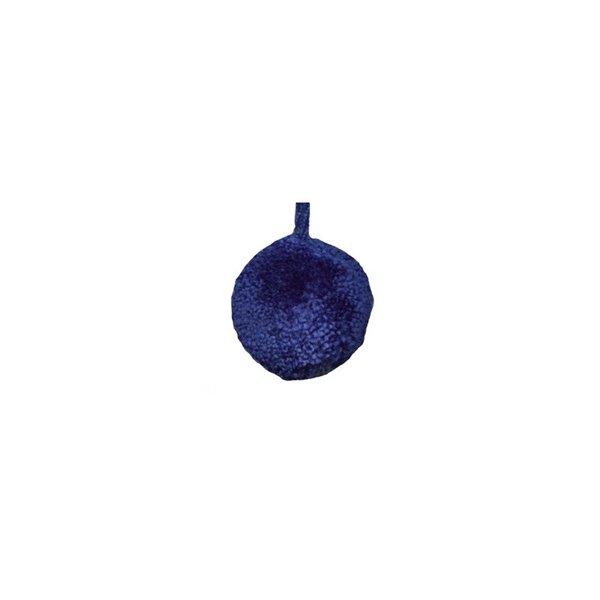 Lot de 24 pompons ronds 18mm Bleu Roy - Photo n°1