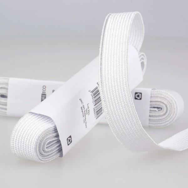 Elastique Blanc 15mm x 2m - Photo n°1