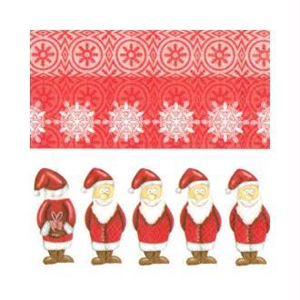 Lot de 2 Serviettes en papier motif Cadeaux de Noël cachés