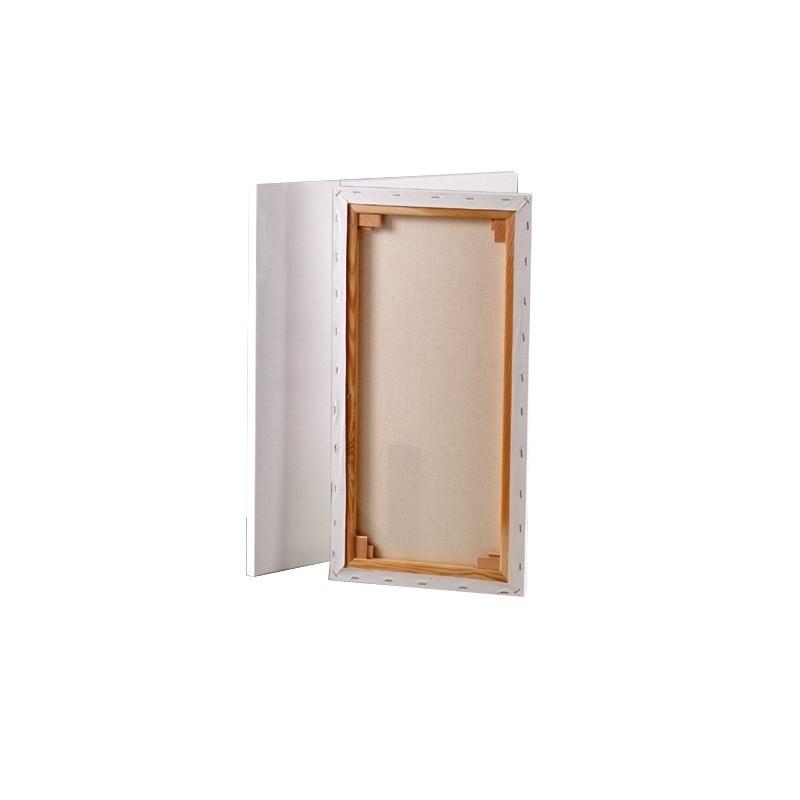 Toile sur châssis, Dim 30 x 60 cm, épaisseur 1,7 cm - Photo n°1