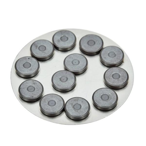 Aimant de 14 mm de diamètre, épaisseur 3 mm, lot de 12 - Photo n°1