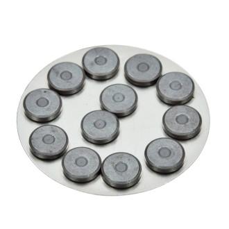 Aimant de 14 mm de diamètre, épaisseur 3 mm, lot de 12