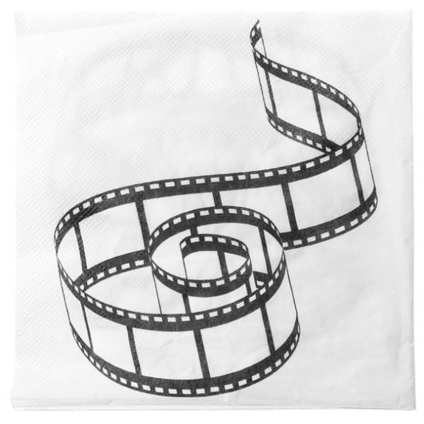 Serviette en papier cinéma x20 - Photo n°1