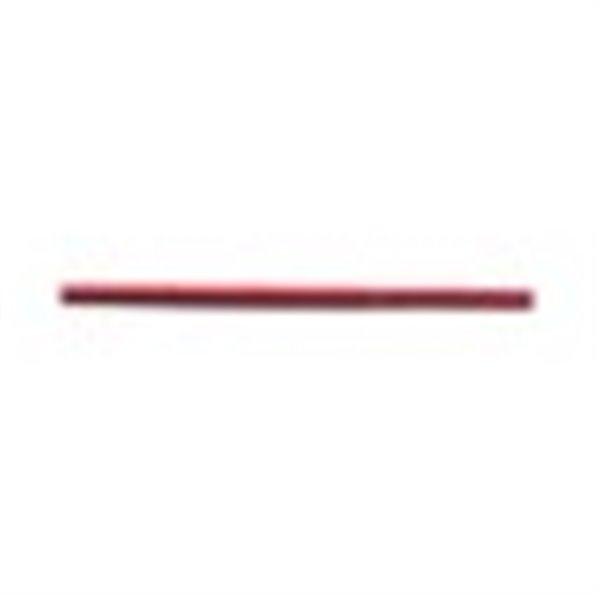 Bobine 50m lacet aspect cuir 2mm rouge - Photo n°1