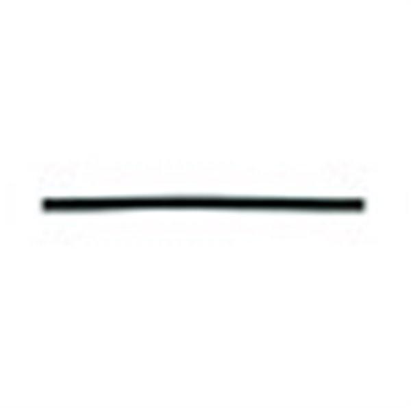 Bobine 50m lacet aspect cuir 2mm noir - Photo n°1