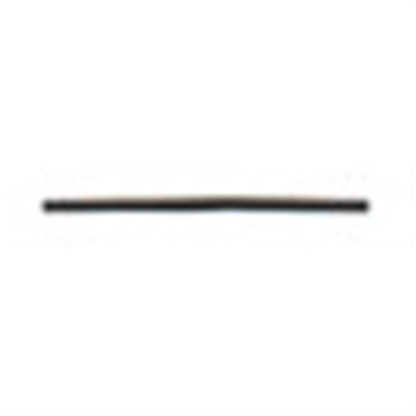 Bobine 50m lacet aspect cuir 2mm marron foncé - Photo n°1