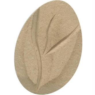 Bouton de fleur en bois 4 cm