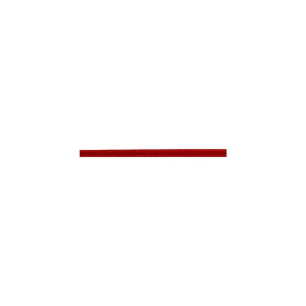 Bobine 100m Ruban comète 3 mm Rouge - Photo n°1